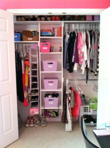 Minimalist Apartment Closet Ideas